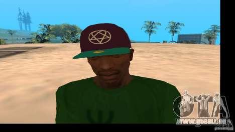 Casquette avec le logo du groupe HIM pour GTA San Andreas troisième écran