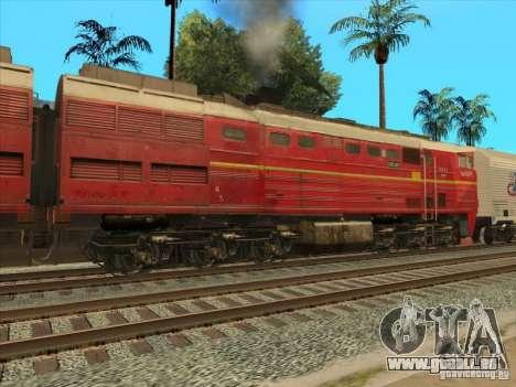 2te10v-4833 pour GTA San Andreas vue de droite