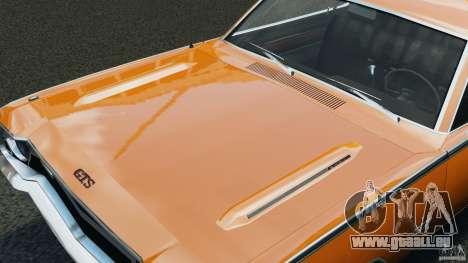 Dodge Dart GTS 1969 pour GTA 4 est un côté