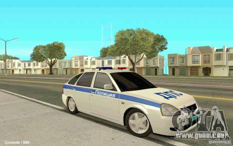 Lada Priora DPS für GTA San Andreas