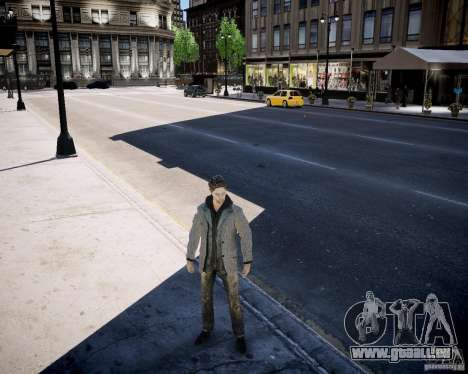 Alan Wake pour GTA 4 troisième écran