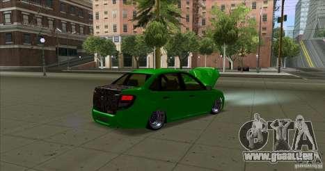 Lada Granta JDM pour GTA San Andreas sur la vue arrière gauche