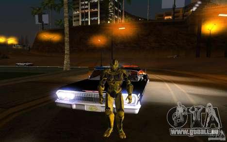 Cyrax 2 aus Mortal Kombat 9 für GTA San Andreas