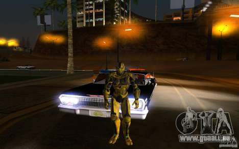 Cyrax 2 de Mortal kombat 9 pour GTA San Andreas