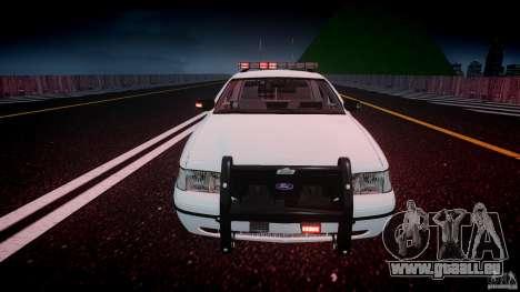 Ford Crown Victoria v2 NYPD [ELS] für GTA 4 obere Ansicht