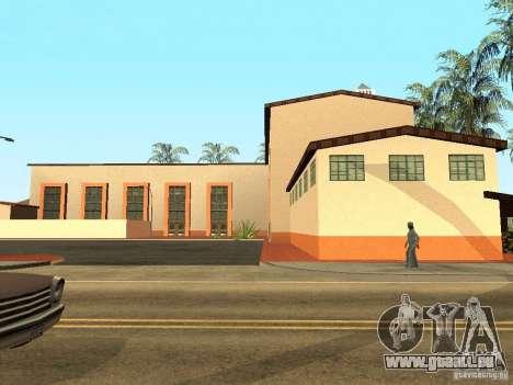 Nouvelles textures pour la station de l'unité pour GTA San Andreas