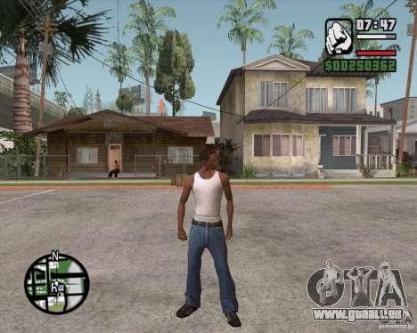 GTA 4 Anims for SAMP v2.0 pour GTA San Andreas deuxième écran