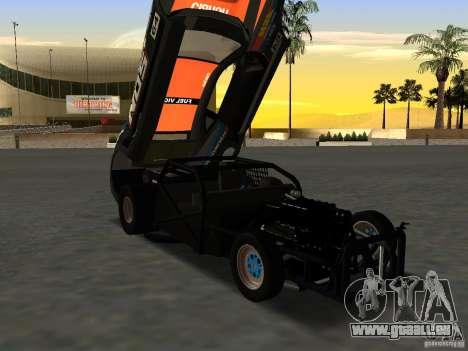 Chevrolet Camaro NOS pour GTA San Andreas vue de droite
