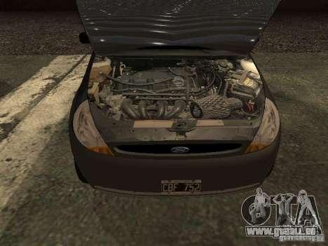 Ford Ka 1998 pour GTA San Andreas vue de droite