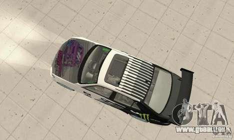 Lexus IS300 Drift Style pour GTA San Andreas sur la vue arrière gauche