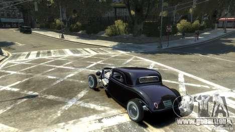 Ford Ratrod 1934 pour GTA 4 est une gauche