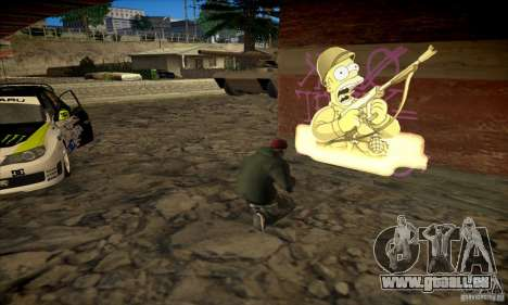 Simpson Graffiti Pack v2 pour GTA San Andreas