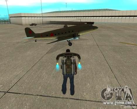 Li-2 pour GTA San Andreas vue de droite