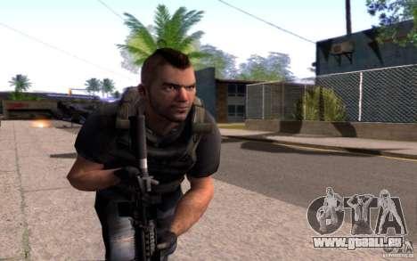 4 Un Mctavish (Brésil) pour GTA San Andreas troisième écran