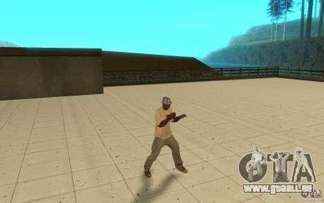 Différents styles de pour GTA San Andreas troisième écran