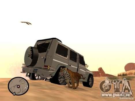 Animaux dans GTA San Andreas 2.0 pour GTA San Andreas deuxième écran