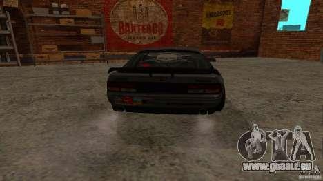GTA Shift 2 Mazda RX-7 FC3S Speedhunters pour GTA San Andreas sur la vue arrière gauche
