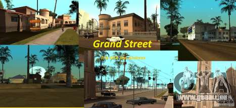 Grand Street pour GTA San Andreas