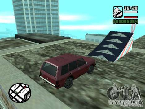Automobil-Salon für GTA San Andreas siebten Screenshot