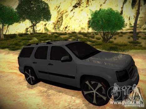 Chevrolet Tahoe HD Rimz pour GTA San Andreas vue de droite