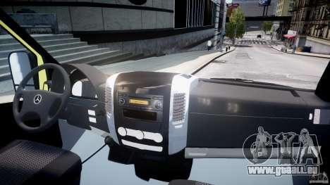 Mercedes-Benz Sprinter PK731 Ambulance [ELS] für GTA 4 rechte Ansicht