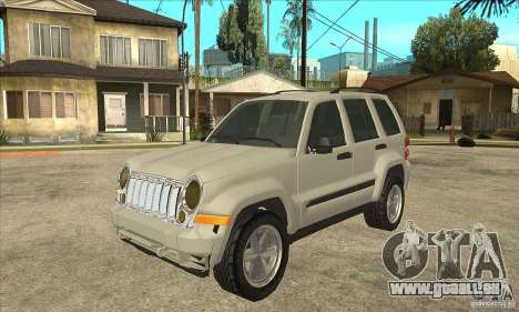 Jeep Liberty 2007 Final pour GTA San Andreas
