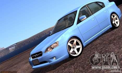 Subaru Legacy 2004 v1.0 pour GTA San Andreas moteur