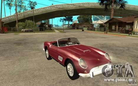 Ferrari 250 California 1957 für GTA San Andreas Rückansicht