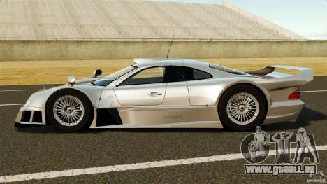 Mercedes-Benz CLK GTR AMG für GTA 4 linke Ansicht