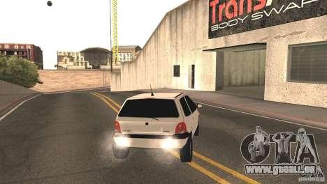 Renault Twingo für GTA San Andreas zurück linke Ansicht