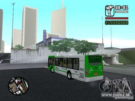 H Hibrido TUTTO 15M UPB C2 EX DR für GTA San Andreas linke Ansicht