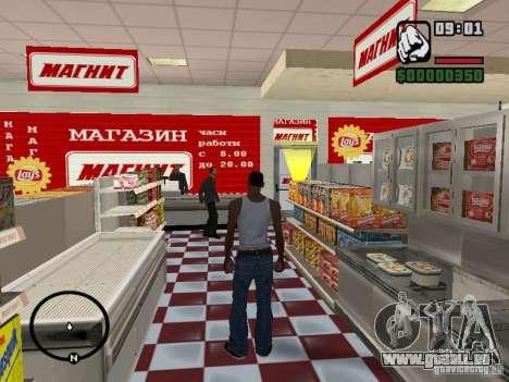 Magnet-Geschäfte für GTA San Andreas