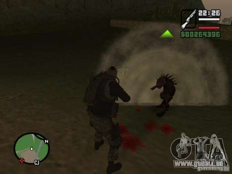 Chupacabra für GTA San Andreas siebten Screenshot
