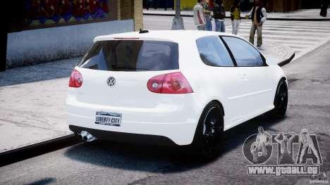 Volkswagen Golf 5 GTI pour GTA 4 est un côté
