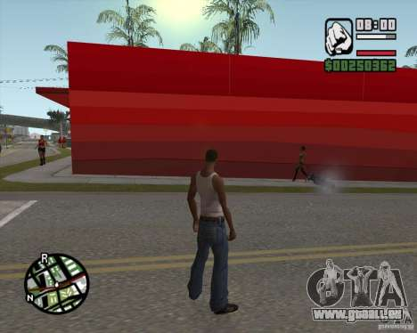 Shop Ecko für GTA San Andreas her Screenshot