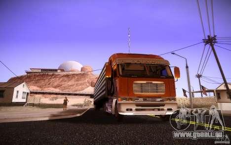 Freightliner Argosy für GTA San Andreas linke Ansicht