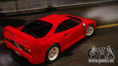Ferrari F40 1987 für GTA San Andreas
