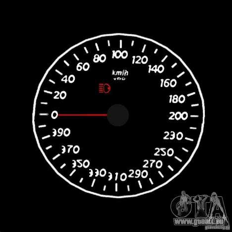 Bêta de l'indicateur de vitesse 1,5 pour GTA San Andreas