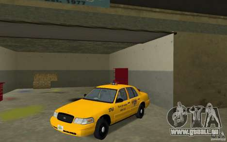Ford Crown Victoria Taxi für GTA Vice City