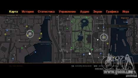 CG4 Radar Map für GTA 4 sechsten Screenshot