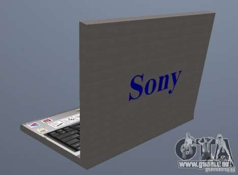 Laptop Haft-Bombe pour GTA San Andreas deuxième écran