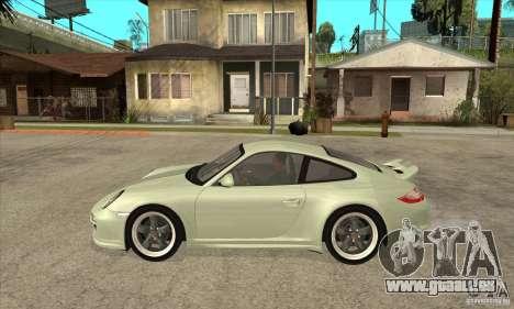 Porsche 911 Sport Classic pour GTA San Andreas laissé vue
