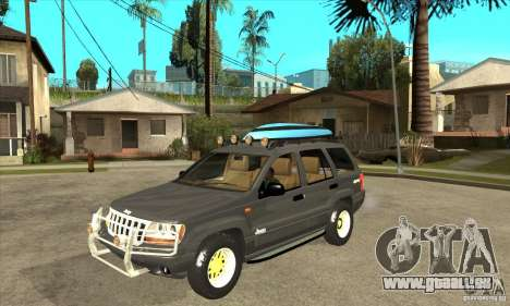 Jeep Grand Cherokee 2005 für GTA San Andreas