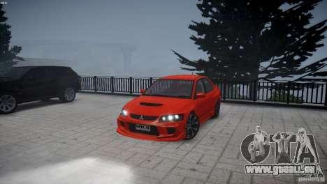 Mitsubishi Lancer Evolution 8 v2.0 pour GTA 4