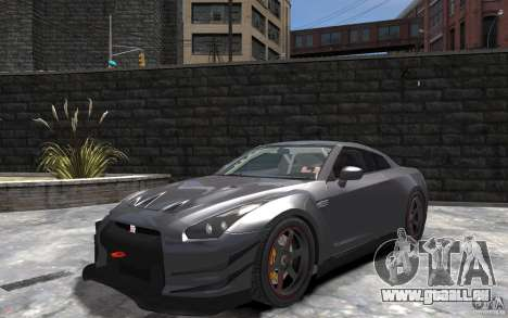 Nissan GT-R v1.1 Tuned pour GTA 4