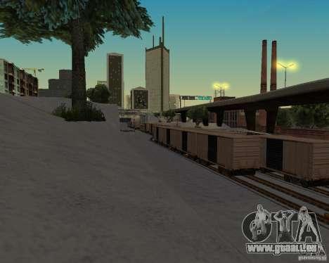 Nouvelle station de chemin de fer pour GTA San Andreas