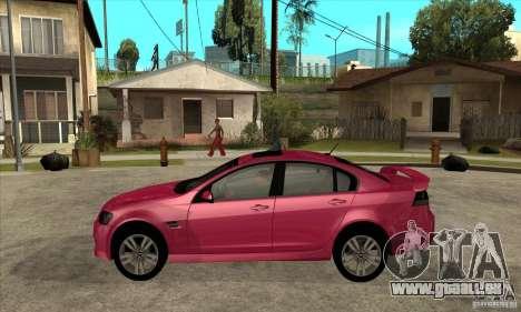 Chevrolet Lumina SS pour GTA San Andreas laissé vue