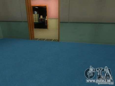 L'entrée de la zone de police à San Fierro pour GTA San Andreas dixième écran