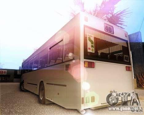 MAN SL202 pour GTA San Andreas vue de droite