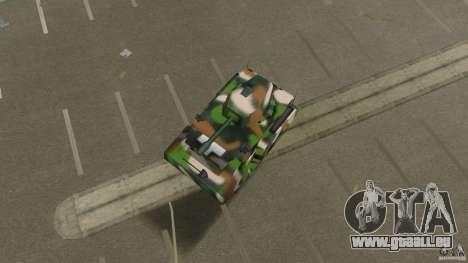 Bundeswehr-Panzer für GTA Vice City